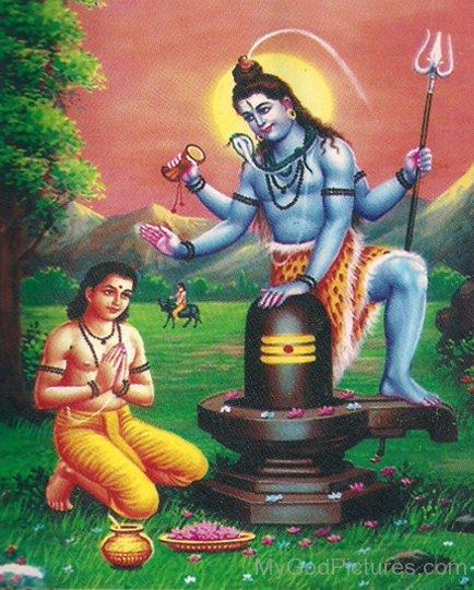 Markandeya Workship Lord Shiva