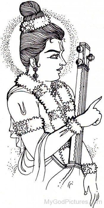 Narada Muni Sketch