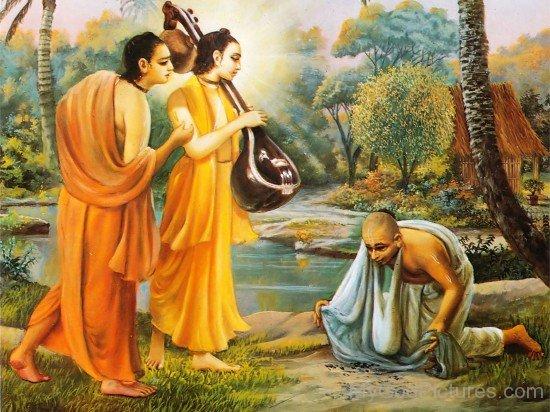 Narada Muni,Parvata Muni And Naradas