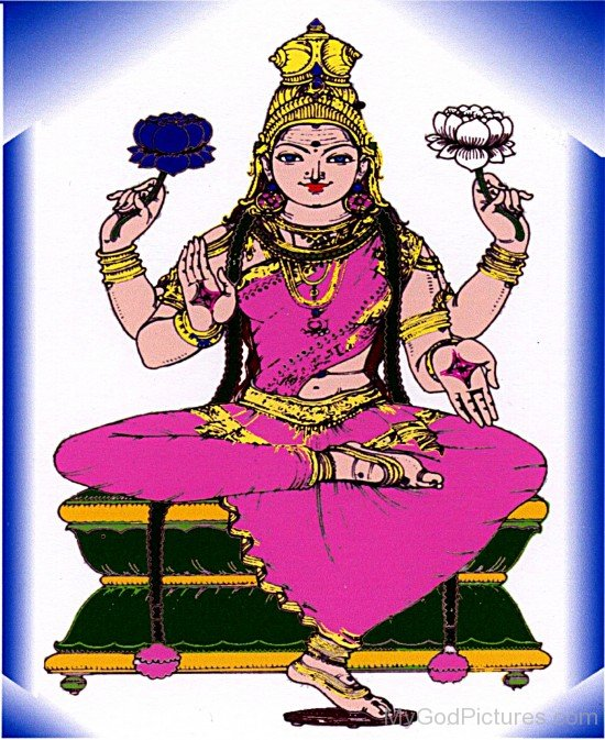 Painting Of Goddess Parvati
