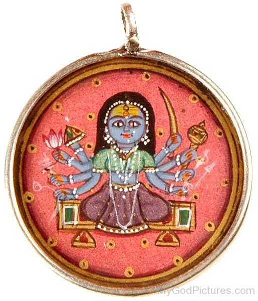 Pendant Of Goddess Bhavani