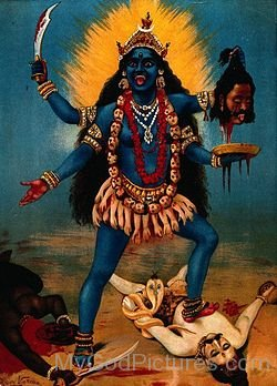 Photo Of Goddess Bhadrakali