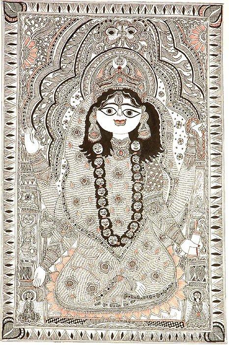 Photo Of Goddess Bhairavi