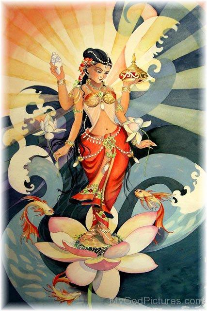 Photo Of Goddess Kamalatmika