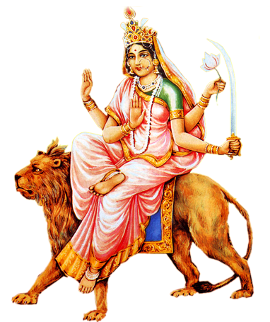 Photo Of Goddess Katyayini