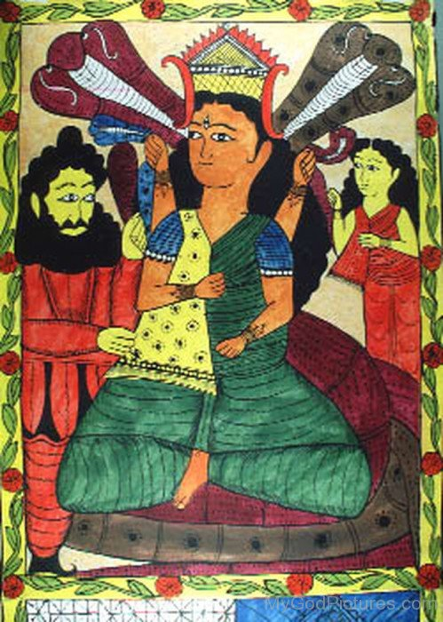 Photo Of Goddess Manasa