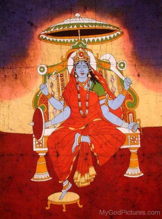 Photo Of Goddess Matangi