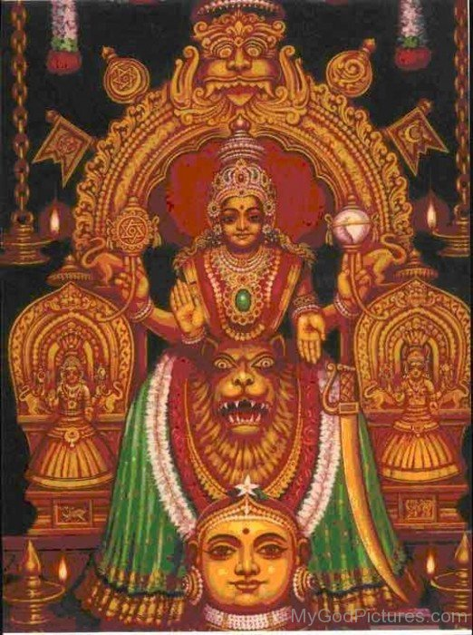 Photo Of Goddess Mookambika