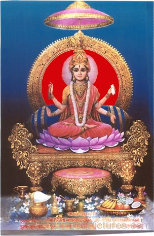 Photo Of Goddess Tripura Sundari