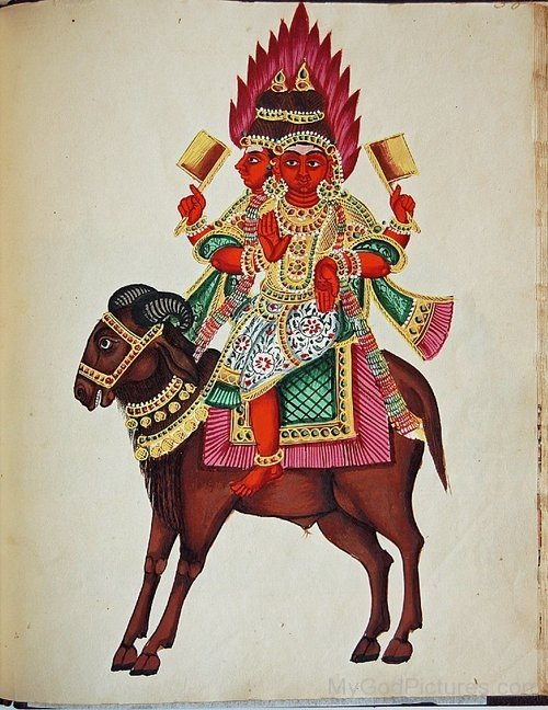 Photo Of Lord Agni