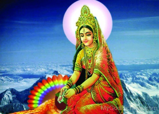 Picture Of Goddess Gauri