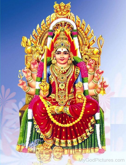 Picture Of Goddess Mariamman