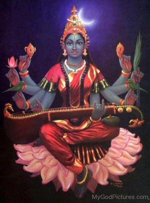 Picture Of Goddess Matangi