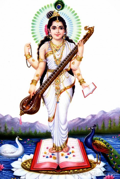 Picture Of Goddess Saraswati