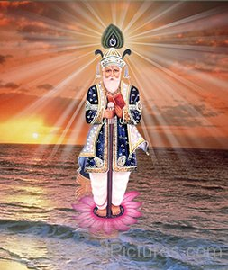 Picture Of Jhulelal