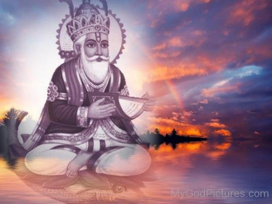 Picture Of Lord Jhulelal