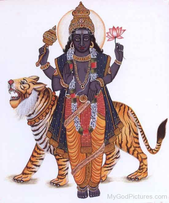 Picture Of Lord Rahu