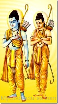 Picture Of Lord Rama And Lord Lakshmana