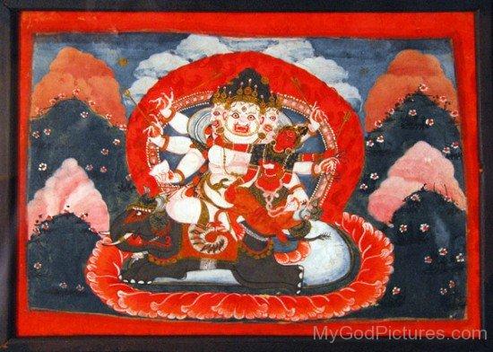 Portrait Of Bhairava