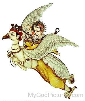 Portrait Of Garuda