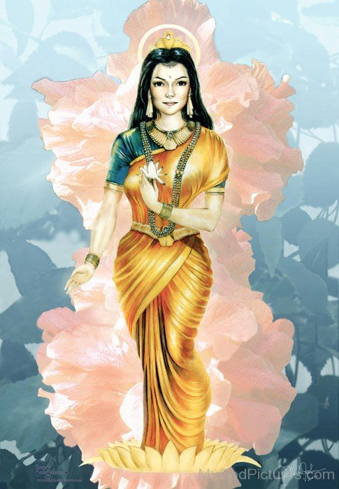 Portrait Of Goddess Parvati