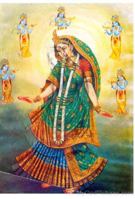 Radha Krishna Portrait