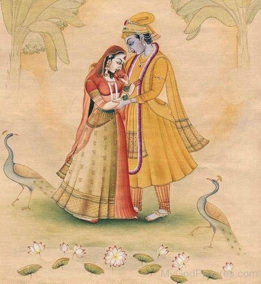 Radha Rani And Krishna Image