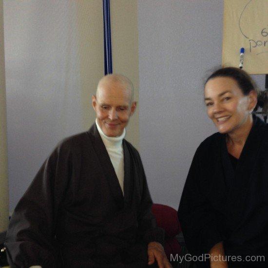 Reb Anderson With Coordinator Kim