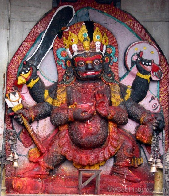 Sculpture Of Bhairava