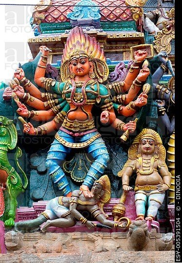 Sculpture Of Goddess Bhadrakali