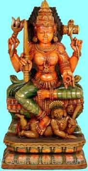 Sculpture Of Goddess Mariamman