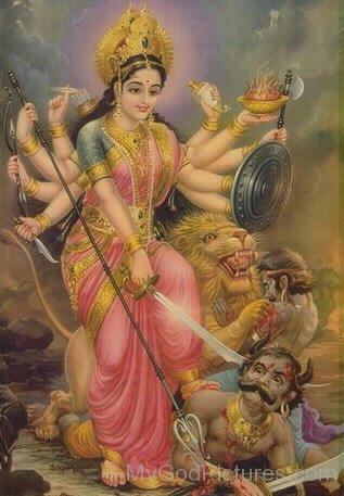 Shakti Goddess Durga Image