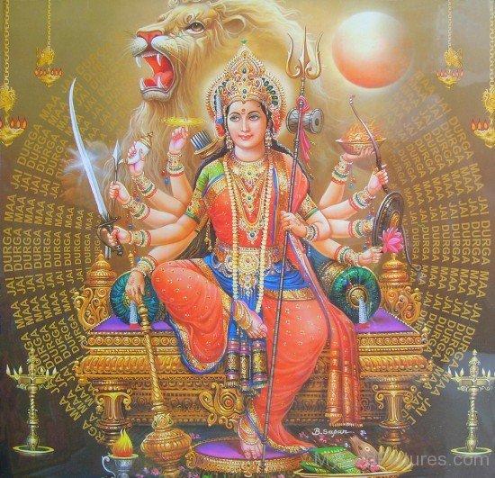 Narayani - Vaishnavi Shakti of Lord Vishnu