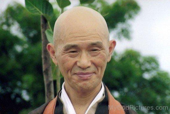 Shodo Harada Smiling