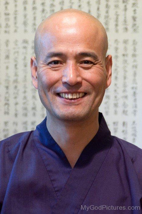 Shohaku Okumura Laughing