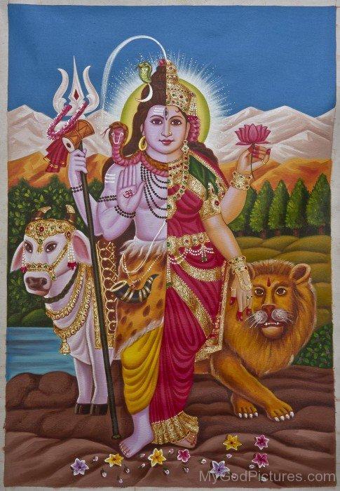 Spiritual Ardhanarishvara