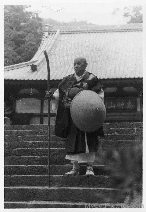 Spiritual Teacher Shunryu Suzuki
