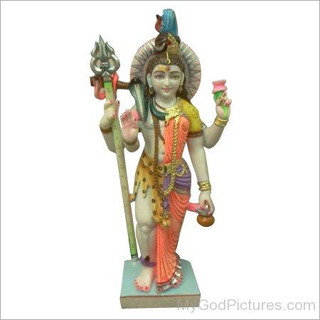 Statue Of Ardhanarishvara