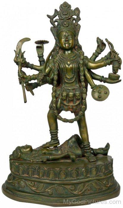 Statue Of Goddess Bhadrakali