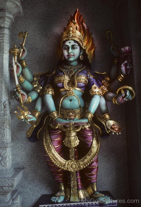 Statue Of Goddess Bhairavi