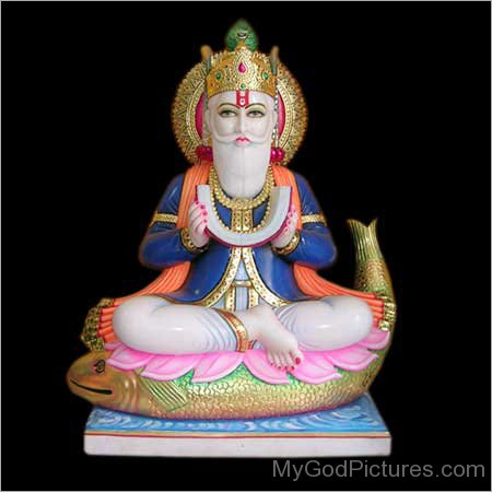 Statue Of Jhulelal