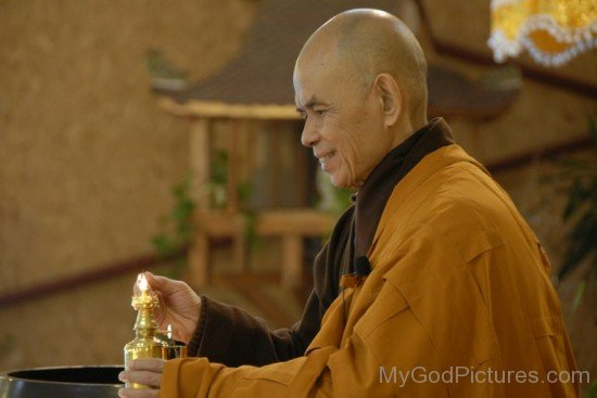 Thich Nhat Hanh Lighting Lamp