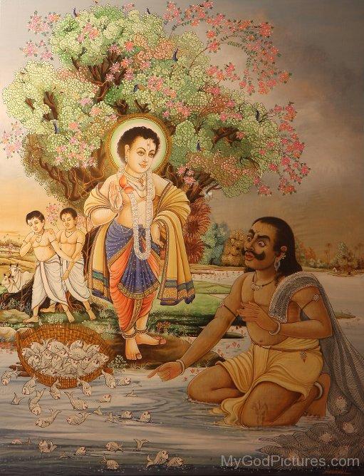 Young Bhagwan Swaminarayan