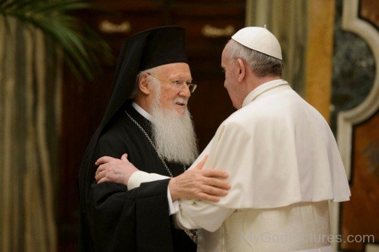 Ecumenical Patriarchs Bartholomew I And Pope Francis