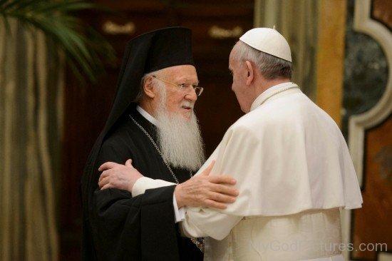Ecumenical Patriarchs Bartholomew I And Pope Francis