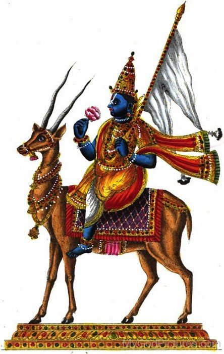 God Of Wind Lord Vayu