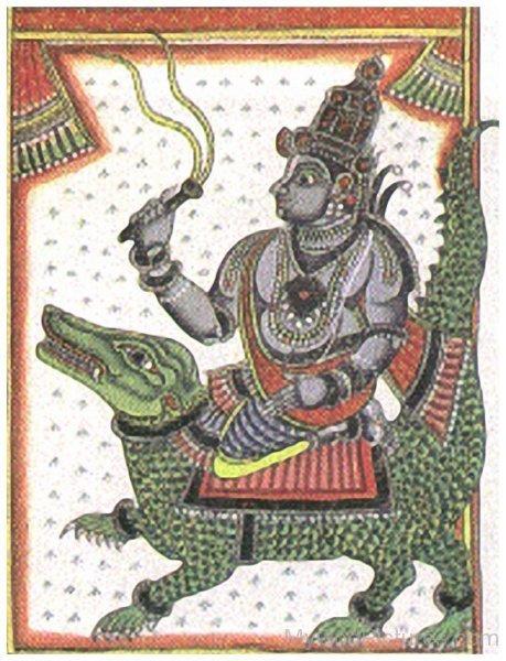 Image Of Varuna Dev