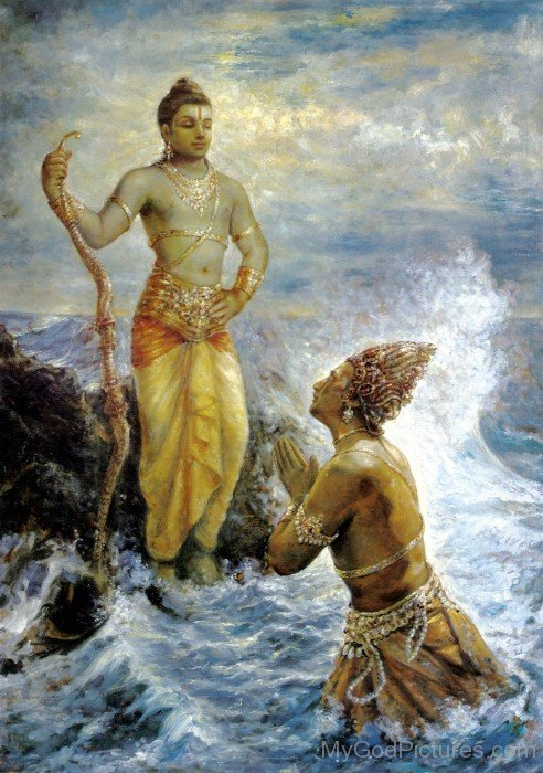 Lord Rama And Lord Varun