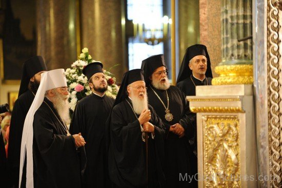 Patriarch Bartholomew visits Hermitage