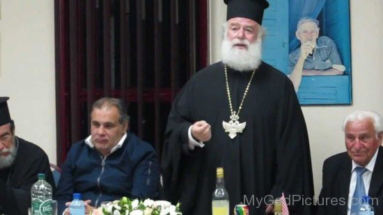 Patriarch Theodore II Of Alexandria Addressing